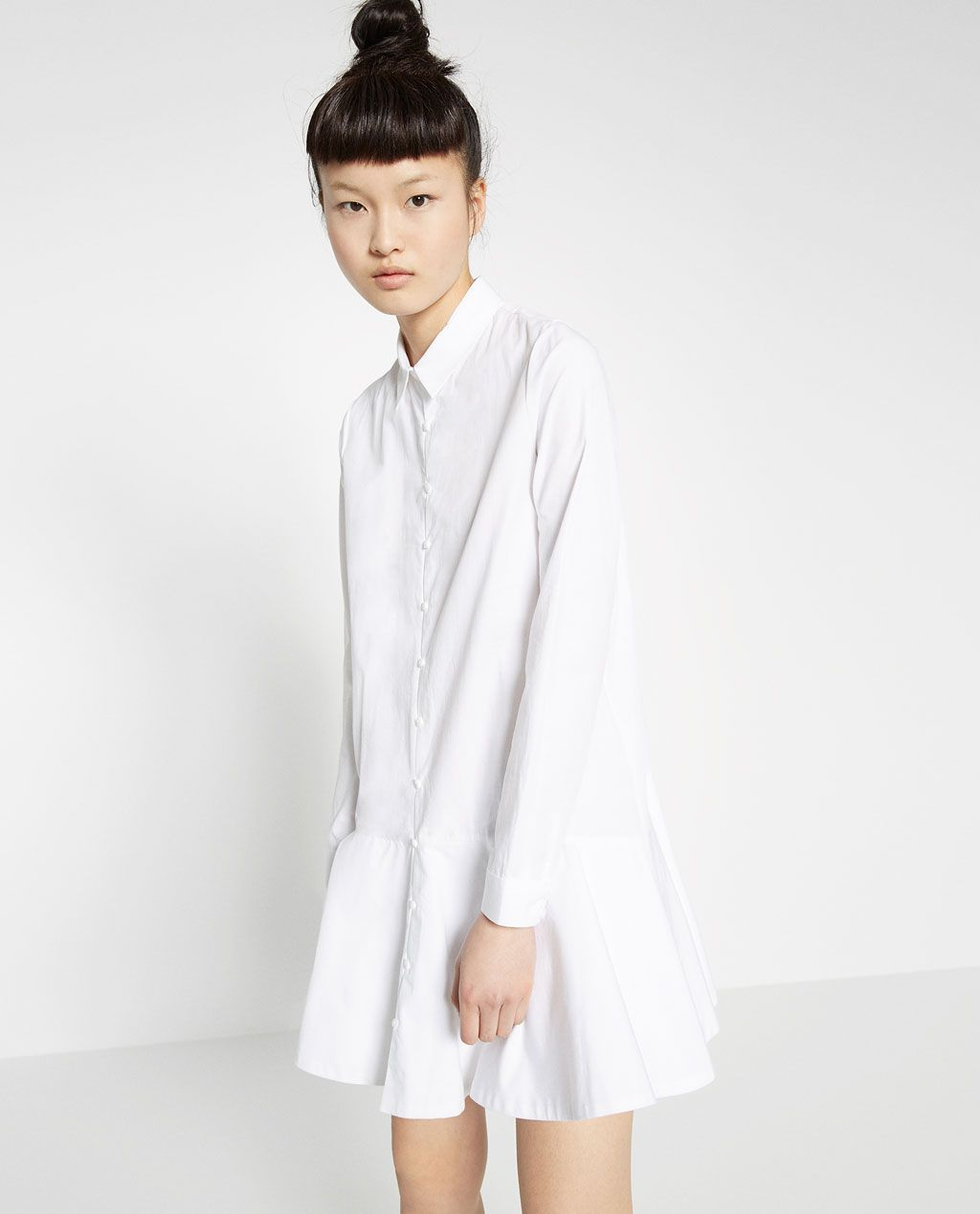 0b532c2ef Image 2 of SHIRT DRESS from Zara | style | Zara shirt, Shirt dress ...