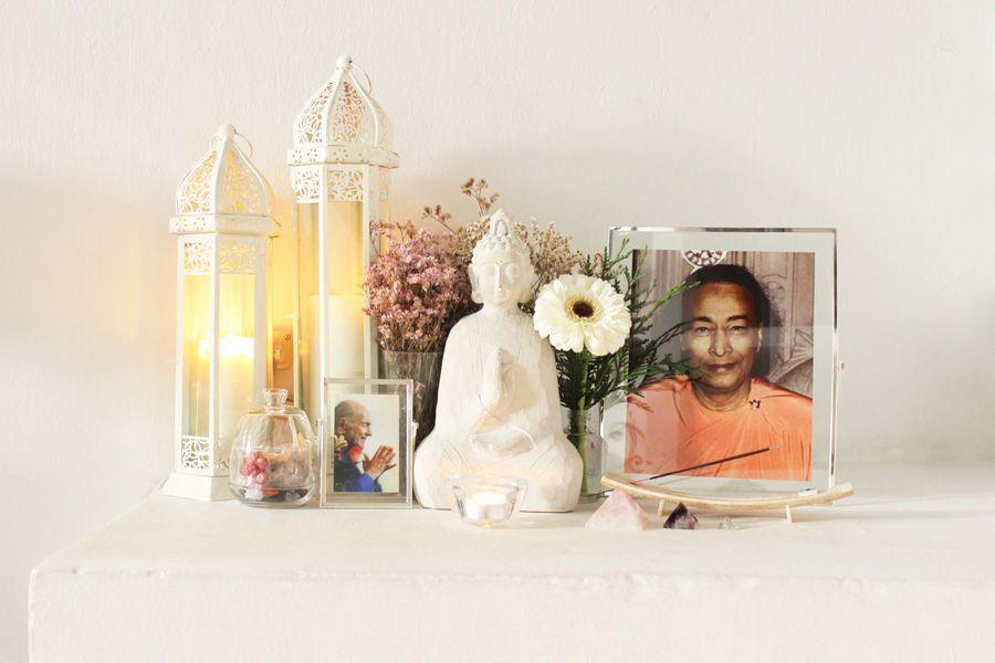 Siempre es til tener en casa un espacio sagrado para - Un lugar para meditar ...