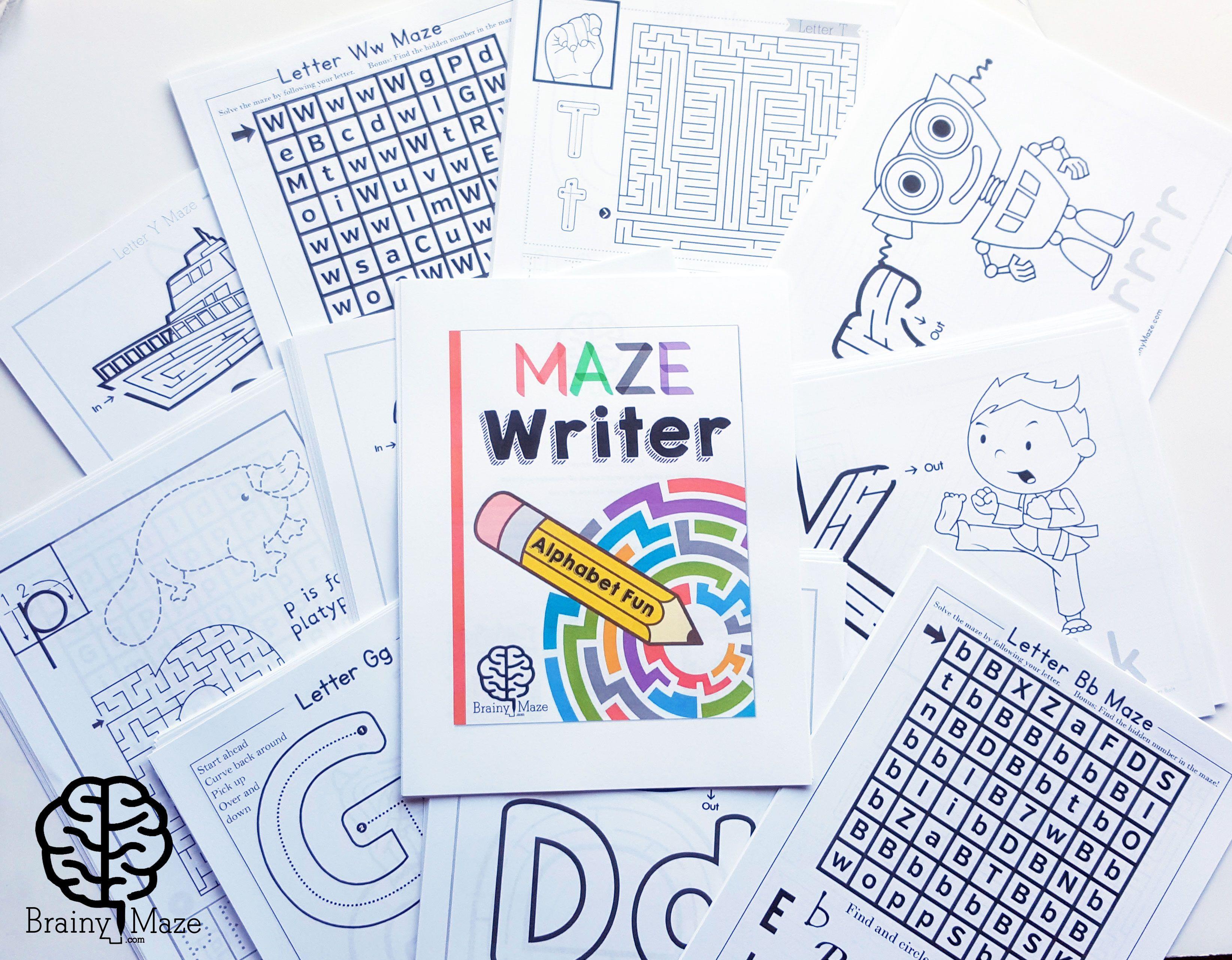 maze writer mazes for kids handwriting practice. Black Bedroom Furniture Sets. Home Design Ideas