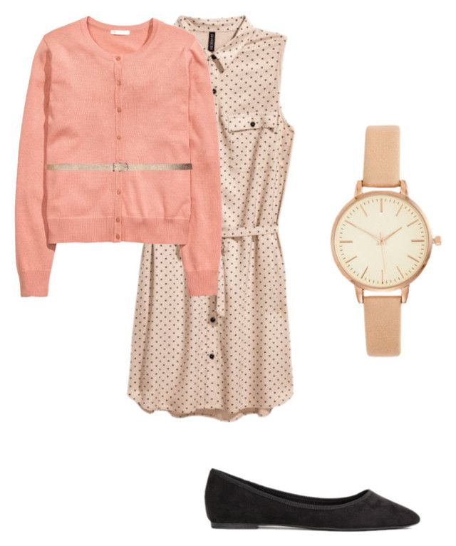 Work Capsule Outfit #34 by melannbarrett on Polyvore featuring polyvore, fashion, style, H&M, clothing, WorkWear and dress