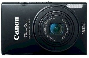 Canon PowerShot ELPH 110 HS   16.1 MP CMOS Digital Camera  with 5x Optical Image Stabilized Zoom 24mm Wide Angle Lens  and ... 1080p Full HD Video Recording (Black)