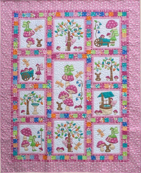 Kids Quilts Fairy Tales Pattern | Baby Quilts and ...