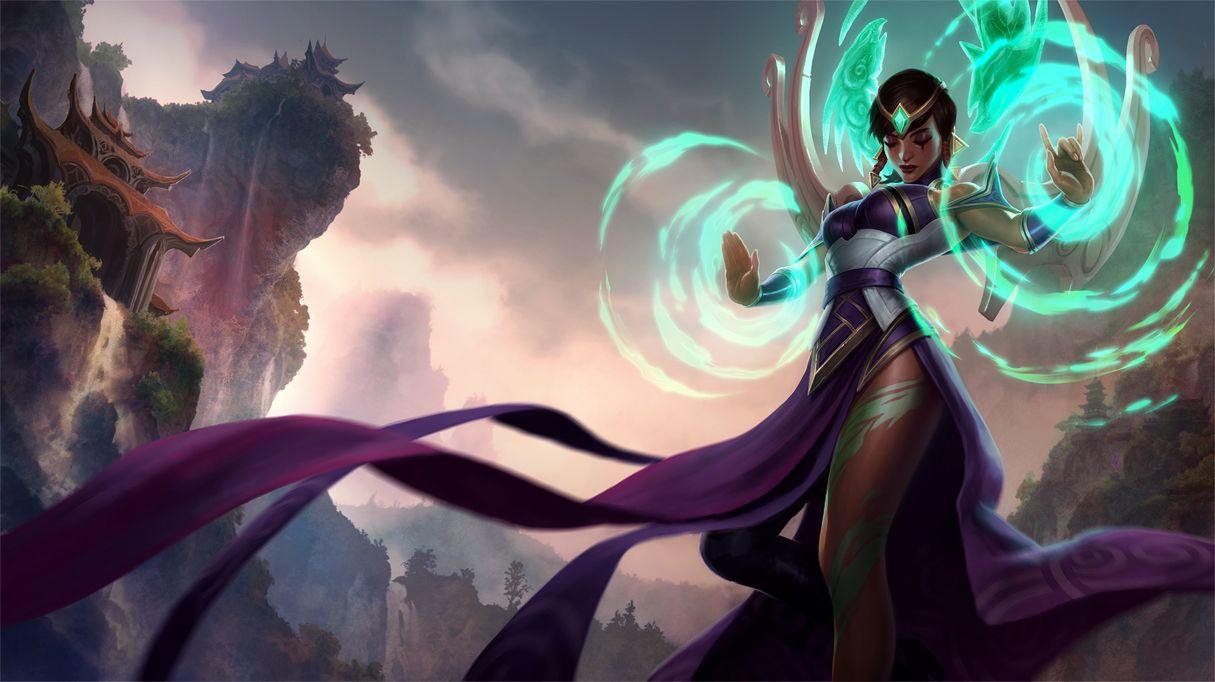 League of Legends : Karma Splash Art