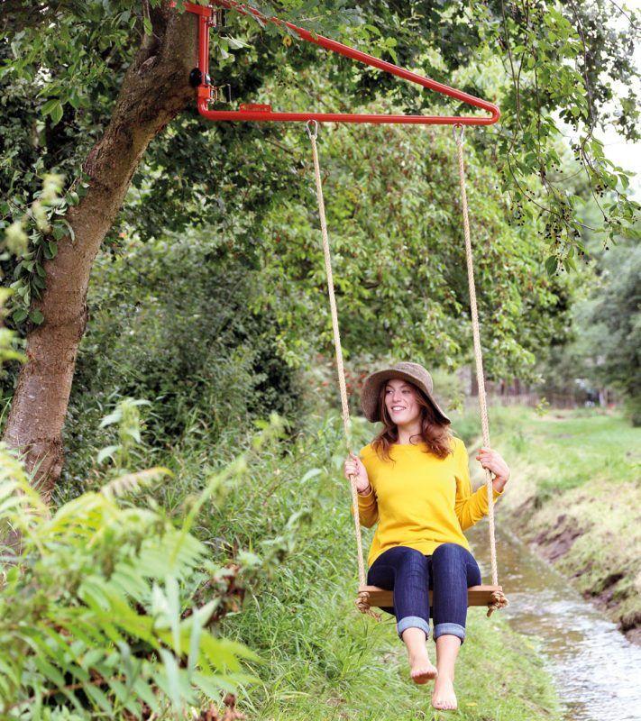 Swing Weltevree Create Your Own Play Area Everywhere You Want Backyard Adventure Play Area Backyard Tree Swings Diy