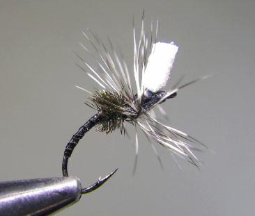 Emerging midge by richard strolis hatches fly tying for Midge fly fishing