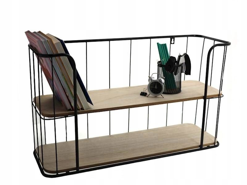 Polka Scienna Metalowa Polka Druciana 2 Poziomy 7374083162 Oficjalne Archiwum Allegro Decor Home Decor Furniture