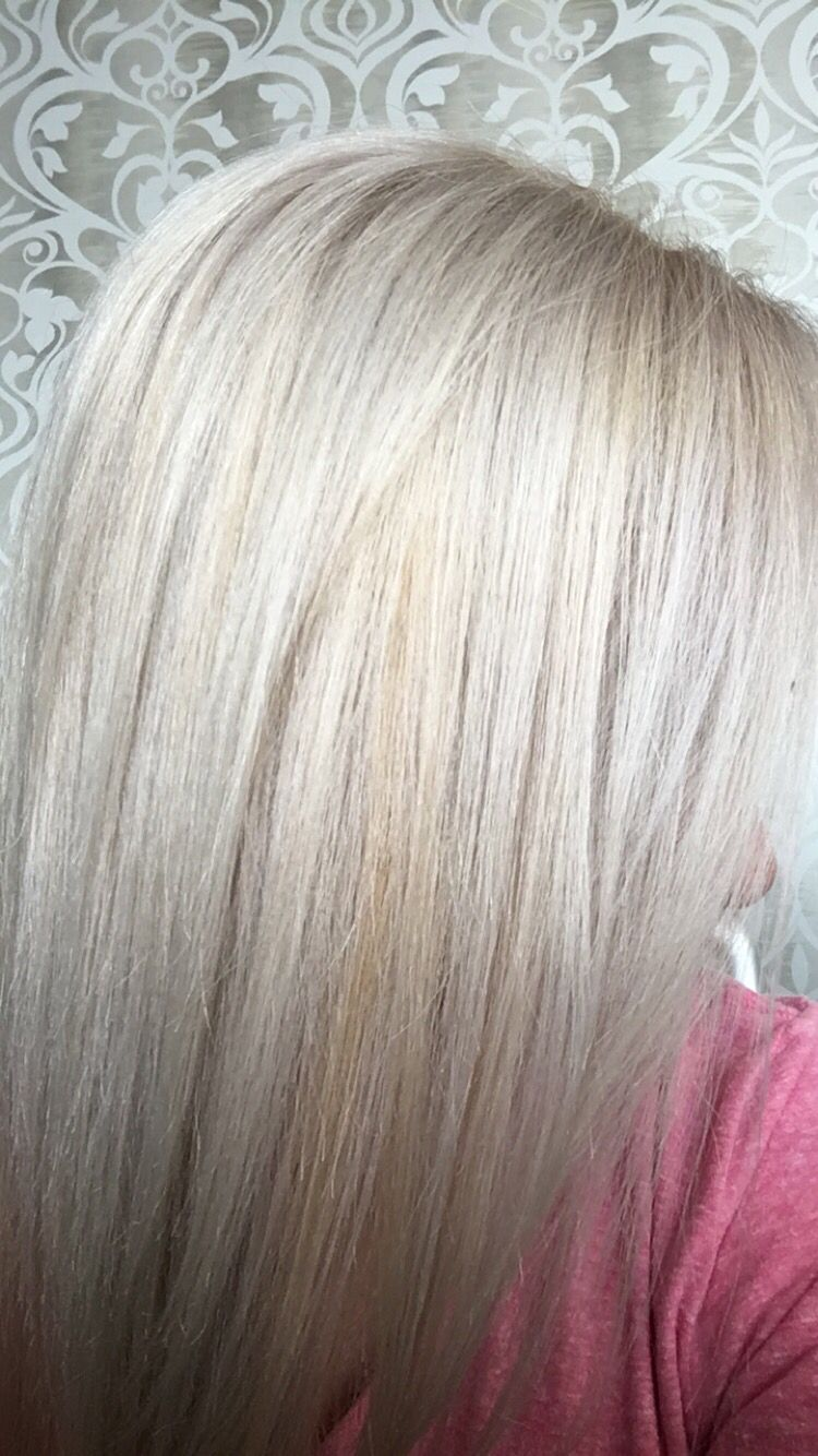 Pravana Super High Lift 90bv Platinum Blonde Hair Icy Blonde Salon