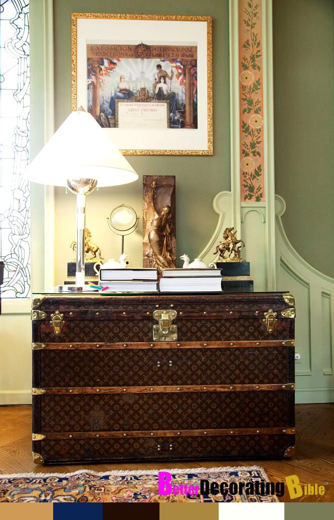 Decorating With Louis Vuitton Trunks Betterdecoratingbible Louis Vuitton Trunk Modern Interior Decor Home Decor