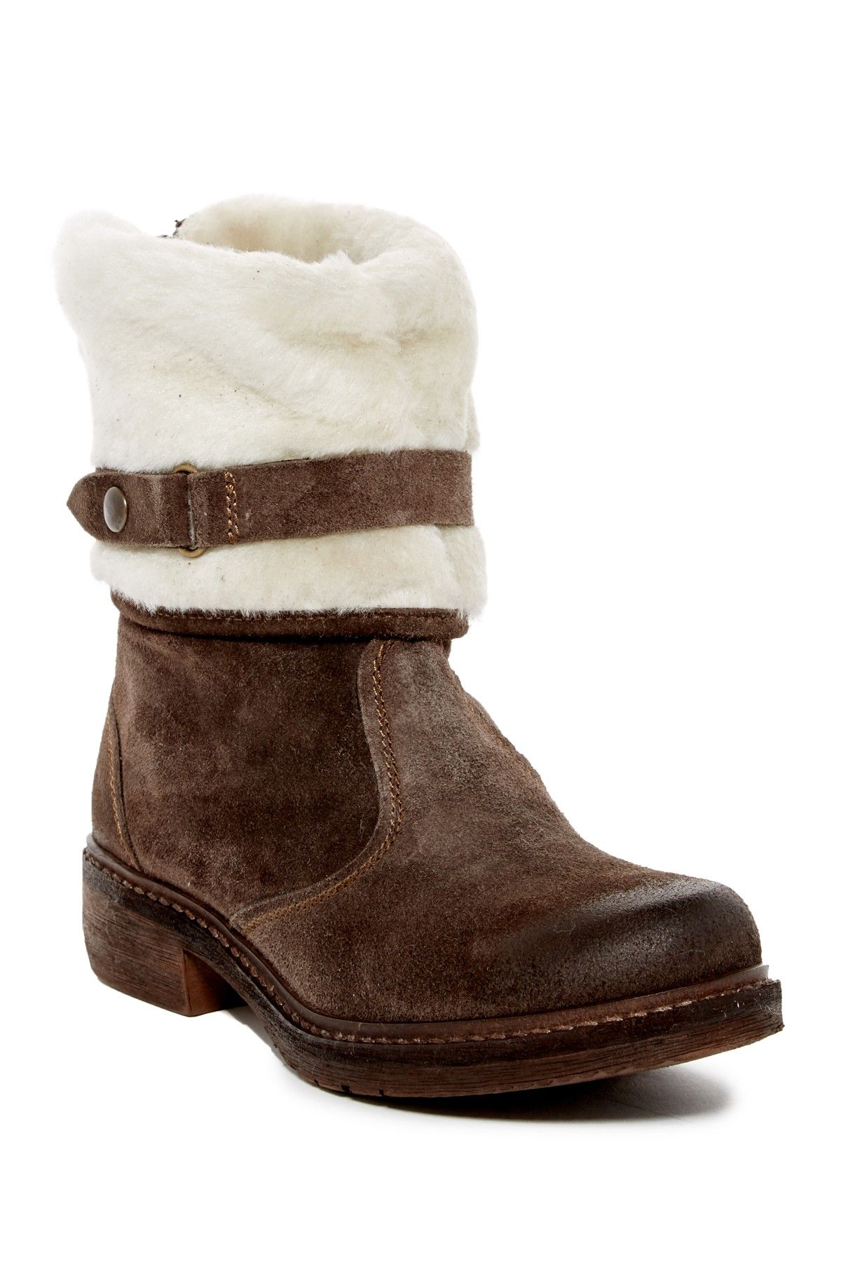 Manas   Faux Fur Lined Boot   Nordstrom