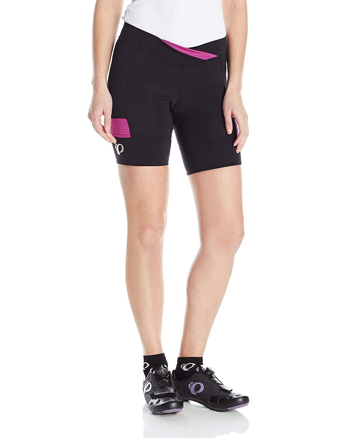 Women's Select Escape Texture Shorts - Black/Purple Wine - C4122P9PHLR - Sports & Fitness Clothing,...