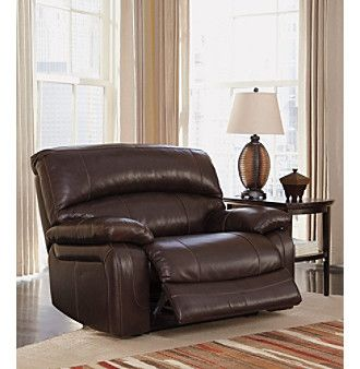 Product Berkline Mainstation Reclining Chair And A Half Wide Seat Recliner Leather Furniture Ashley Furniture