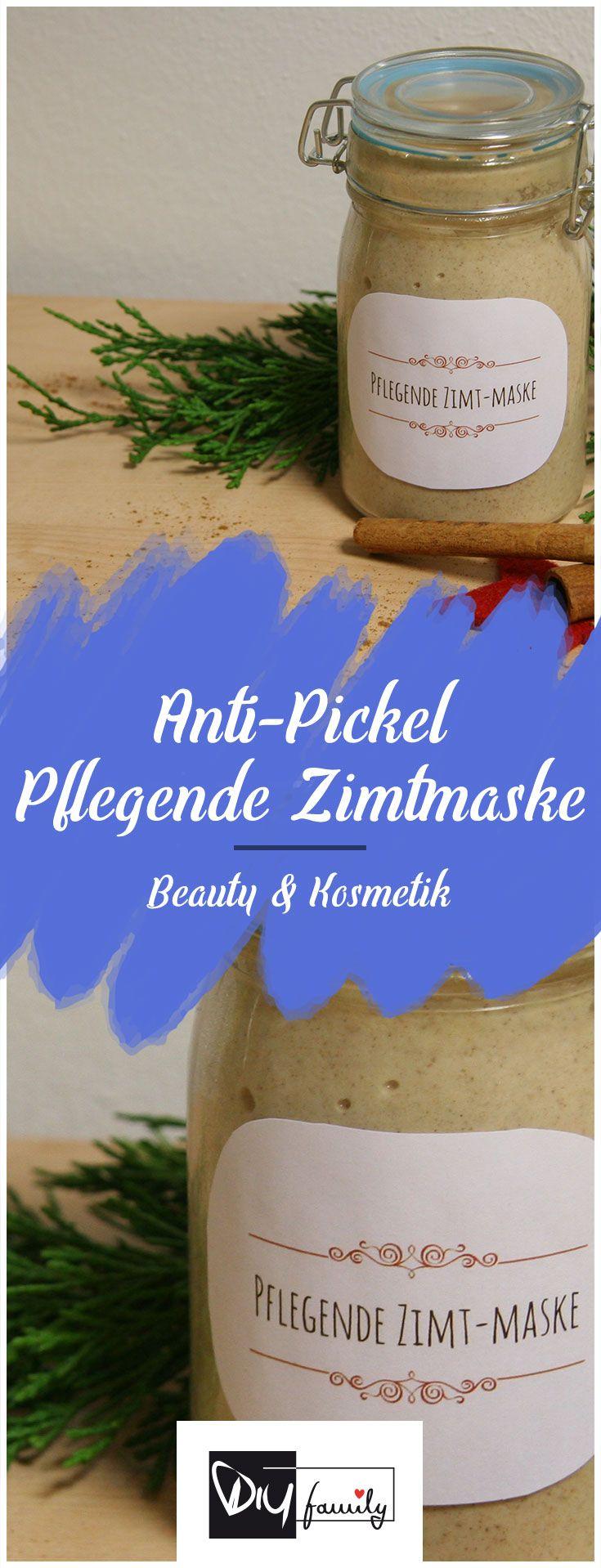 anti pickel pflegende diy zimtmaske f r reine haut pinterest kosmetik naturkosmetik und. Black Bedroom Furniture Sets. Home Design Ideas