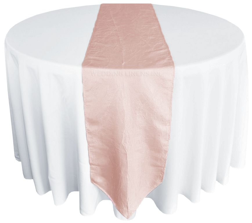 LIGHT BABY PINK CRYSTAL ORGANZA SASHES OVERLAYS TABLE CLOTH COVERS CLEARANCE