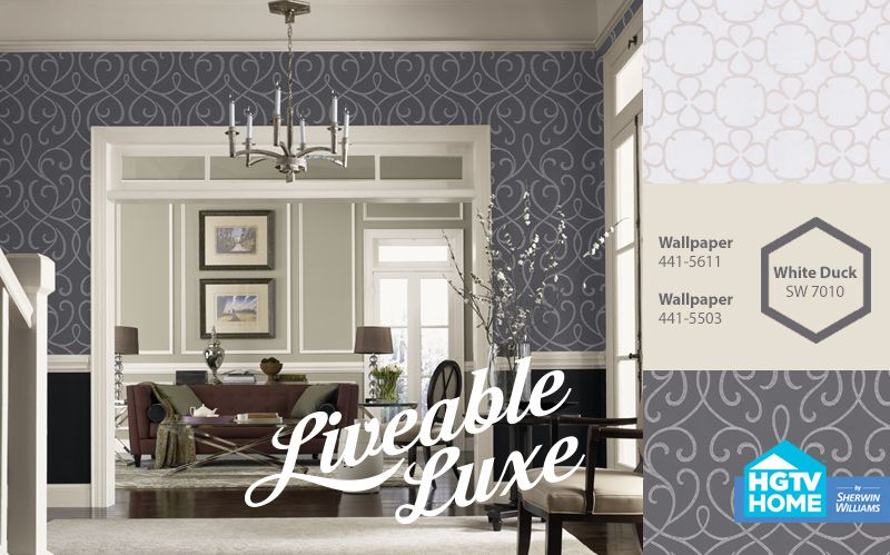 SW + HGTV Home Liveable Luxe Hgtv, Color Inspiration, Gallery Wall, Bathrooms,