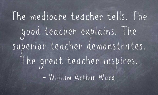 Teaching Quotes Pinterest: Great Teacher Quote- Kuddos For All Of Our Wonderful