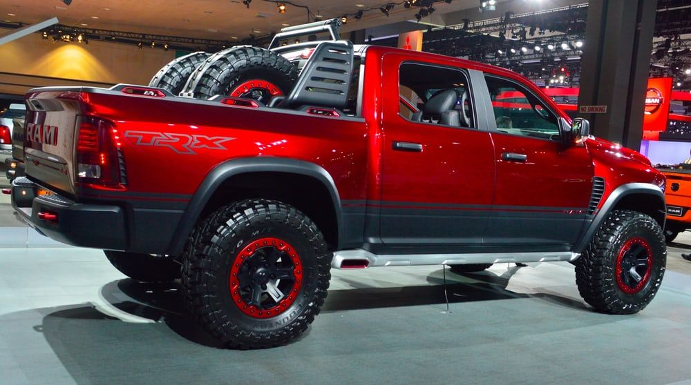 Dodge Ram Trx >> In Pictures Trucks And Suvs Of The 2016 La Auto Show