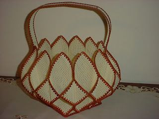 First Post and some pics: plastic canvas baskets - HOME SWEET HOME
