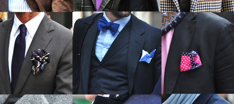 HOW TO WEAR THE POCKET SQUARE