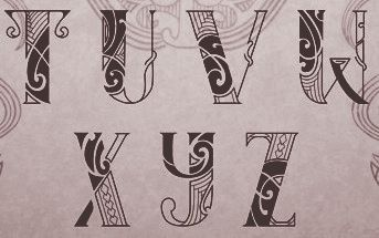 Calligraphie Maorie maori language fonts | maori | pinterest | tattoos, tattoo fonts and