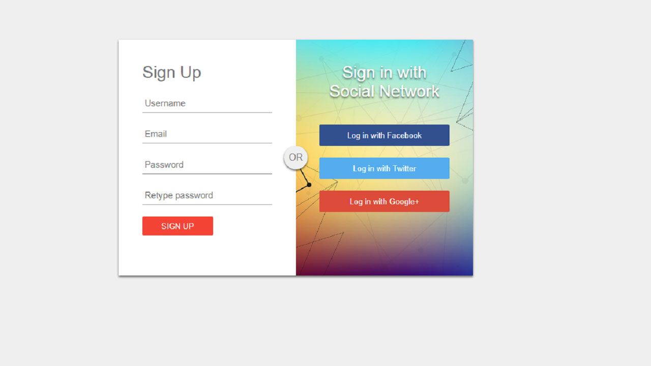 Create Signup Form In Html And Css Signup Css Login Form