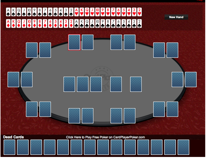 Cardplayer poker calculator napoleon casino london