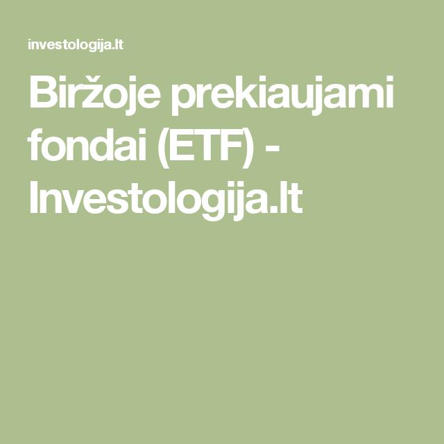 etf prekyba bitcoin)