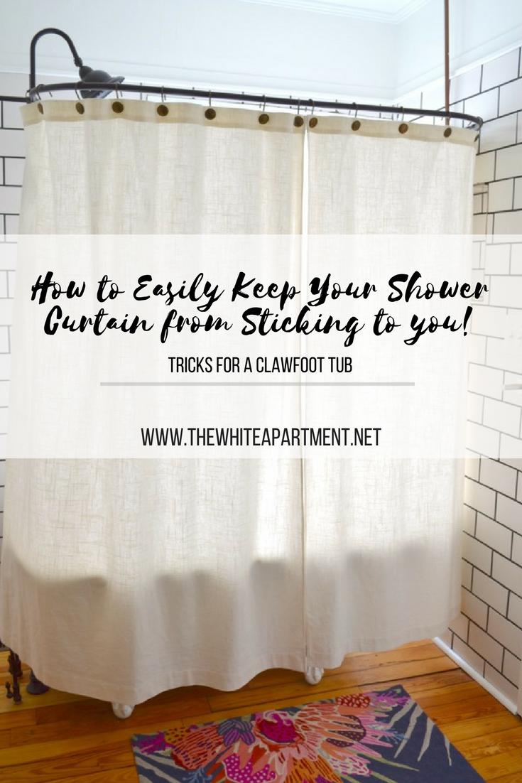 Clawfoot Tub Shower Sticking Problem Solved Clawfoot Tub