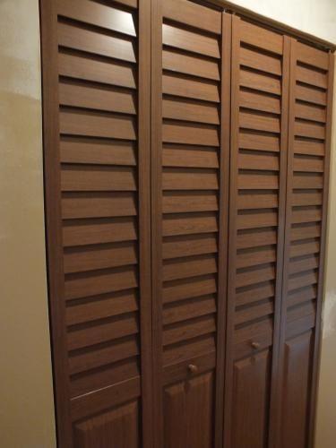 Home Fashion Technologies 28 In X 80 In 3 In Louver Panel White Composite Interior Closet B Puertas De Cocina Armarios De Dormitorio Closet Para Dormitorio