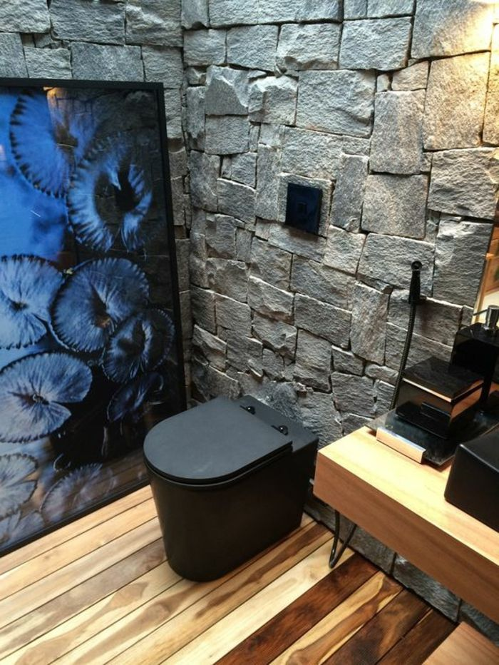 ▷ 1001 + idées pour créer une salle de bain nature | Murs de ...