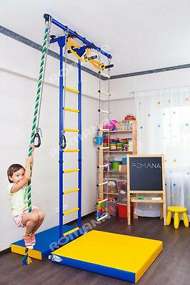 details about kid's home gym indoor swedish wall