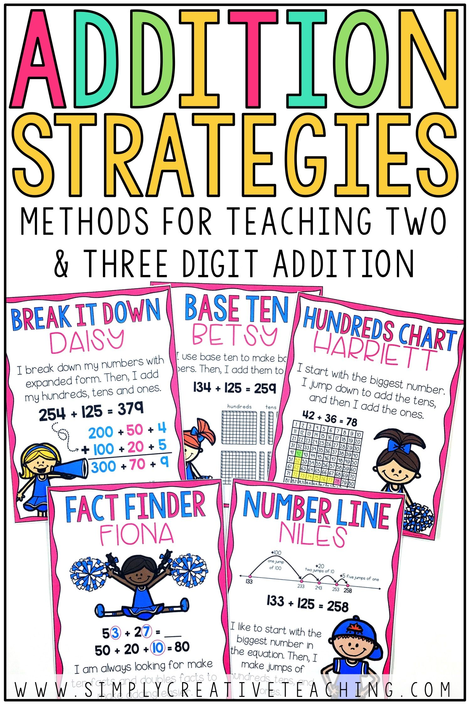 2 3 Digit Addition Strategies With Images
