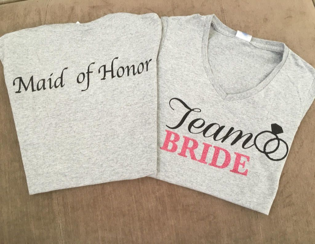 c66c4758ca13d Personalized Team Bride Shirts | Azərbaycan Dillər Universiteti
