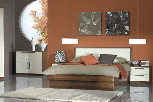 Pintar En Colores Tierras Pintomicasa Com Colores Tierra Diseno Interior De Dormitorio Decoracion De Recamaras Matrimoniales