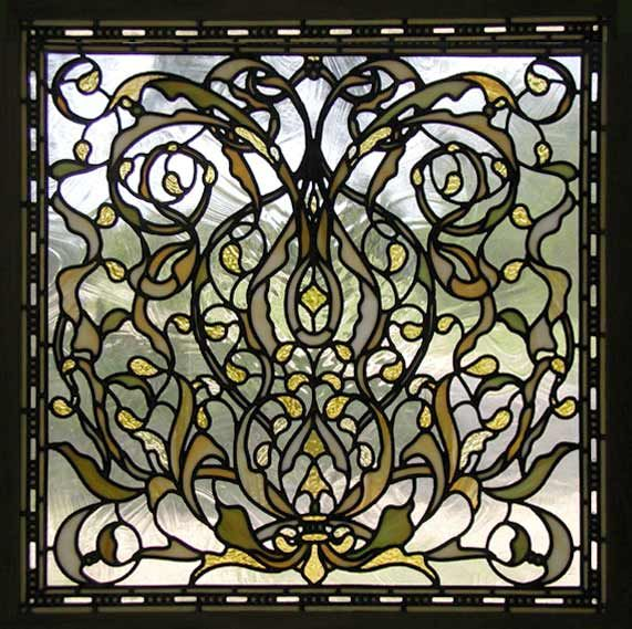stained glass windows | ... custom stained and leaded ...