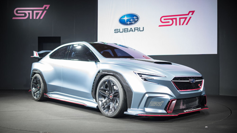 The 2021 Subaru Wrx Sti Will Get A New Turbo Boxer Engine Making At Least 400 Hp Report In 2020 Subaru Wrx Hatchback Wrx Subaru