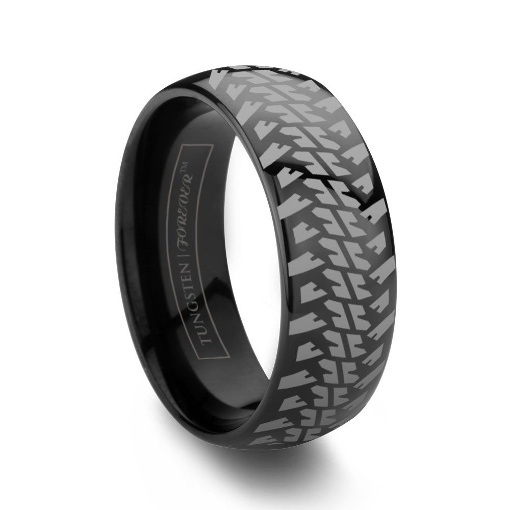 band tread titanium tire products ring made bicycle spinner rings custom
