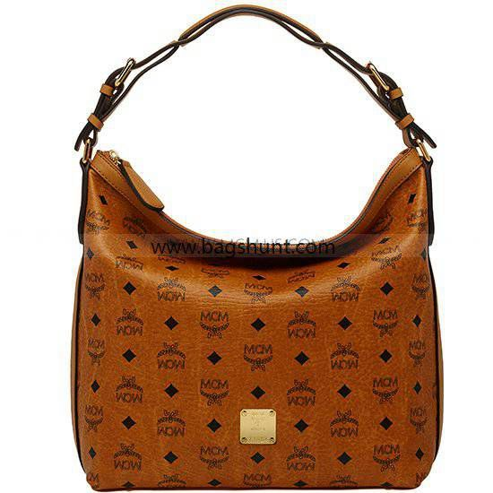 1d79765511 MCM Hobo Bag Vintage Visetos Cognac 2016 Buy Now