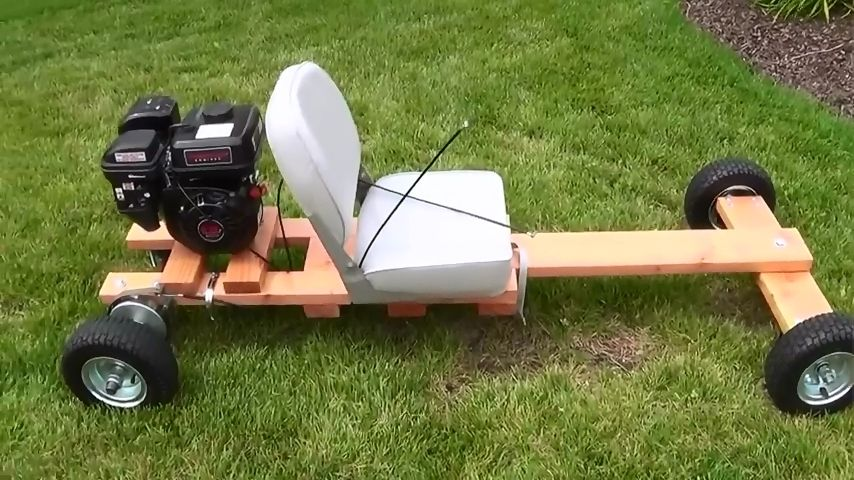 This 3 part Video series shows how to build a Homemade Wood Go kart