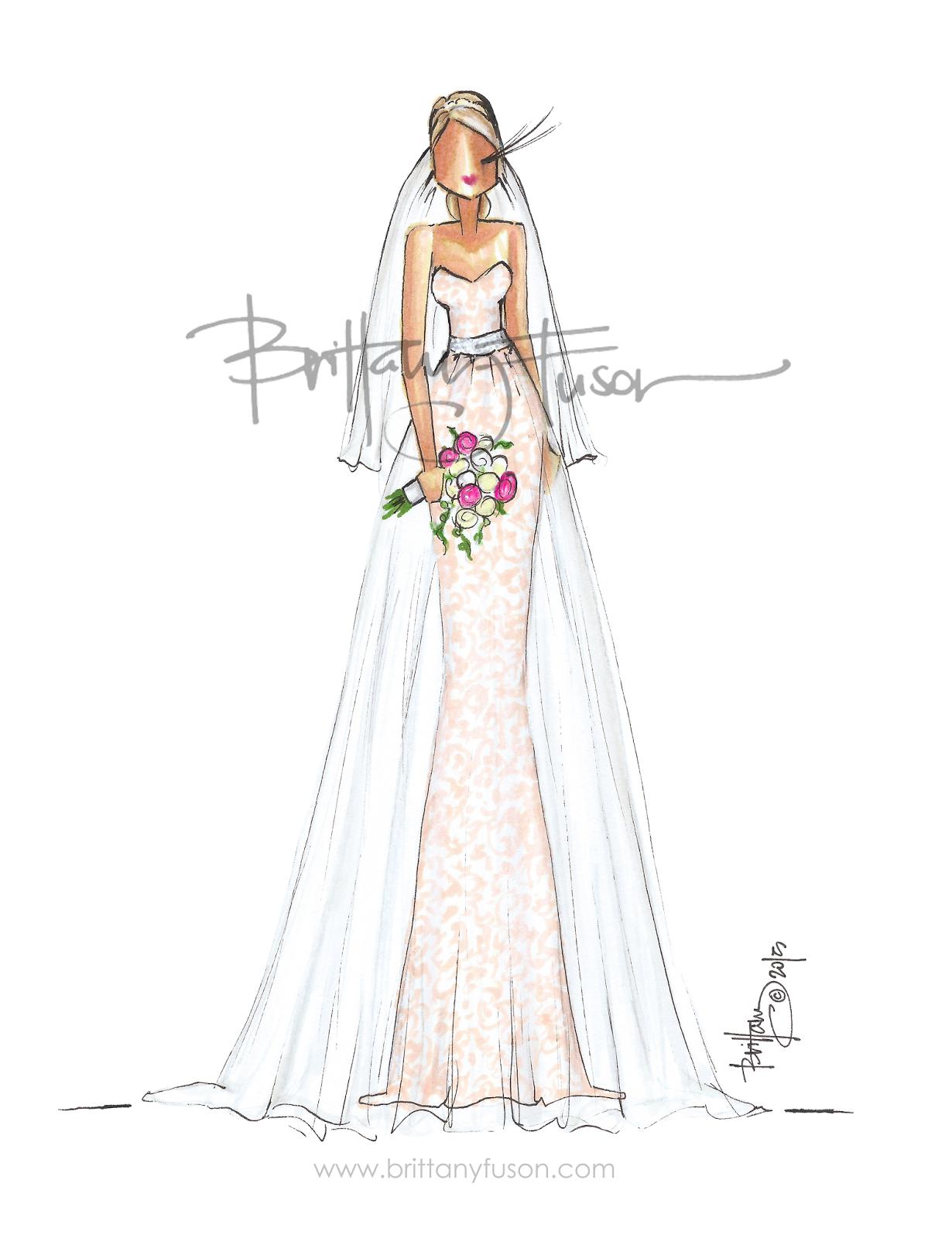 Brittany Fuson: Blushing Bride