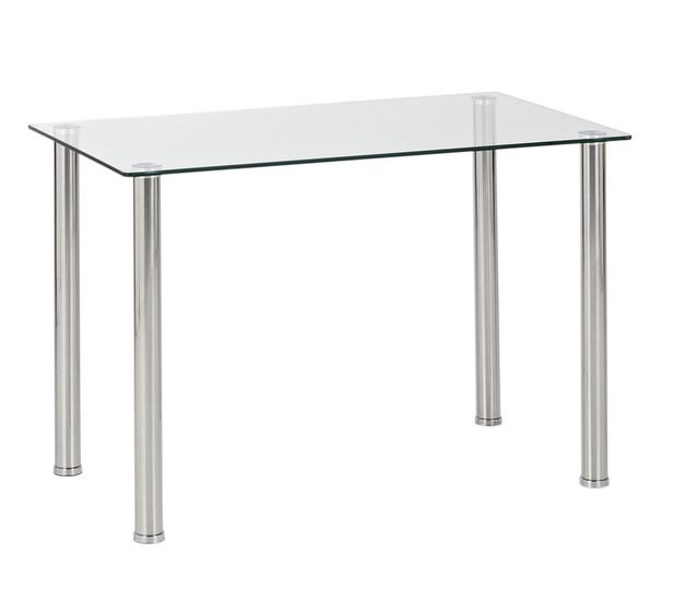 Stainless Steel Dining Table 4 Seater