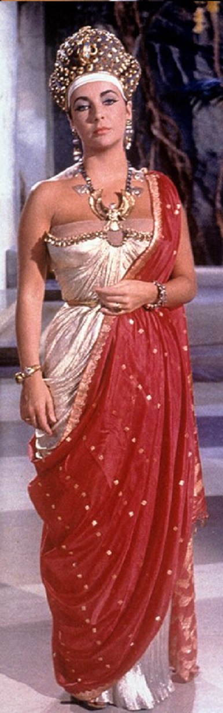 Cleopatra - Elisabeth Taylor