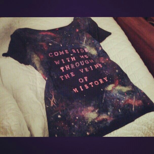 Galaxy shirt muse lyrics this i love how you could for Jackson galaxy band