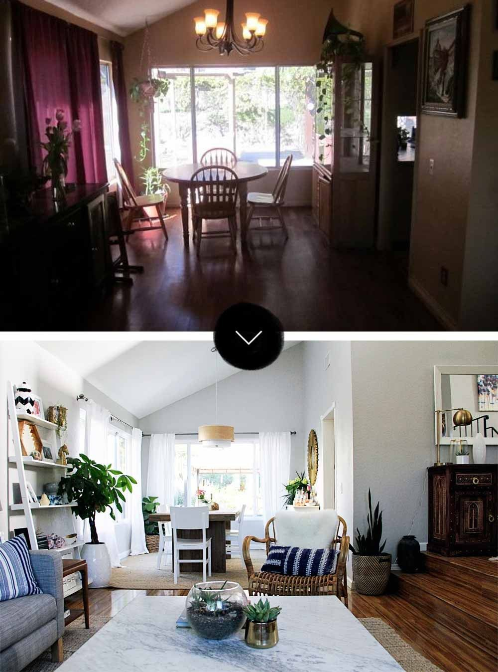 Before & After A Modern Bohemian Fixer Upper in Southern