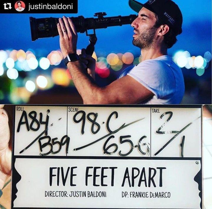 Five Feet Apart Movie Justin Baldoni Cole Sprose