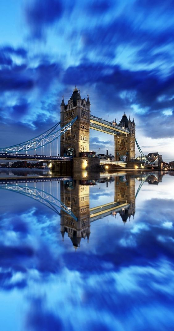 One of the more amazing bridges I've seen- the Tower Bridge in London.