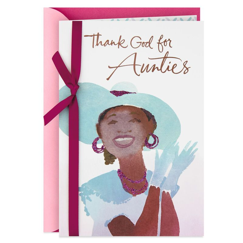 Thanking God For You Mother S Day Card For Auntie In 2020