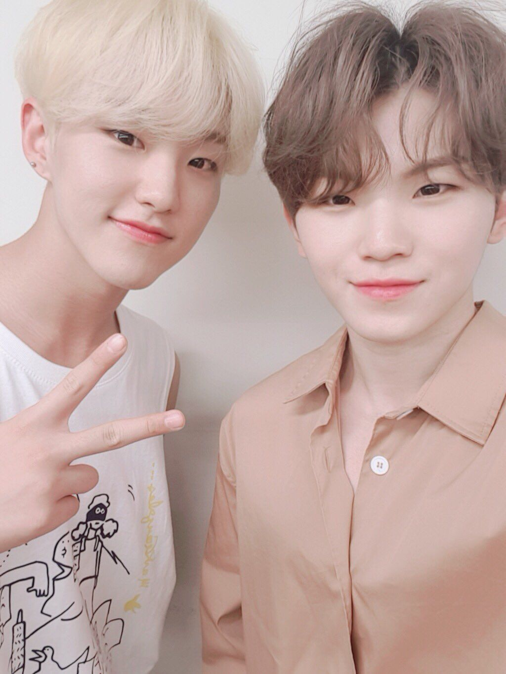 17's Silfia] 💖💙💛Meanie SoonHoon😚😚 on | Seventeen kpop ...