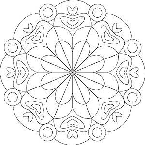 Pin Von Ximena Auf Mandalas Mandala Ausmalen Mandalas Zum