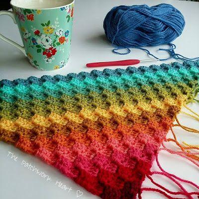 Corner To Corner.Corner To Corner Blanket For The Home C2c Crochet Blanket