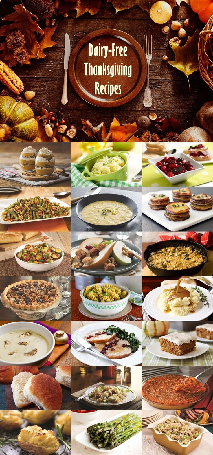 The Biggest Gathering Of Dairy Free Thanksgiving Recipes Dairy
